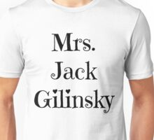 Mrs. Jack Gilinsky Unisex T-Shirt