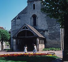 St Nicholas church Beaune France 198404290012 by Fred Mitchell