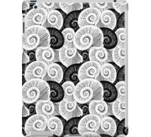 graphic pattern of shells  iPad Case/Skin