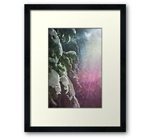 Snow Magic Framed Print