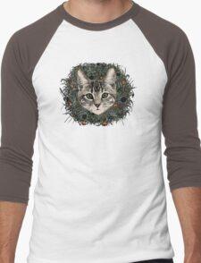 meadow god lion cat Men's Baseball ¾ T-Shirt