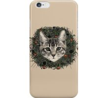 meadow god lion cat iPhone Case/Skin