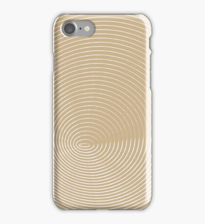beige and white spiral background iPhone Case/Skin