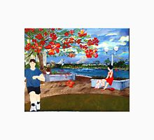 Late Afternoon Story Bridge from Stamford Plaza Lawn Unisex T-Shirt
