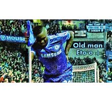 Old man Eto'o Photographic Print