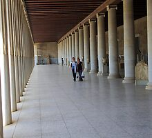 Stoa Of Attlos by Francis Drake