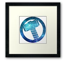 mjolnir Framed Print