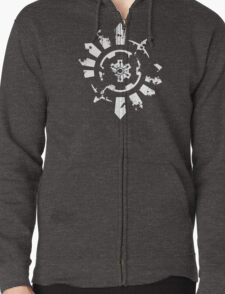 Time Gear - Pokemon Mystery Dungeon Zipped Hoodie
