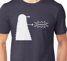 Exterminate (white) Unisex T-Shirt
