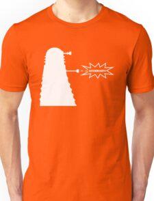Exterminate (white) Unisex T-Shirt