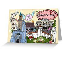 cool city Greeting Card