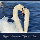Happy Anniversary To Lynn & Barry by Susie Peek