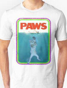 Jaws (PAWS) Movie parody T Shirt Unisex T-Shirt