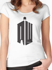 Dalek (exterminate) Women's Fitted Scoop T-Shirt