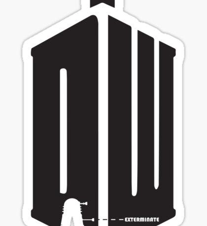 Dalek (exterminate) Sticker