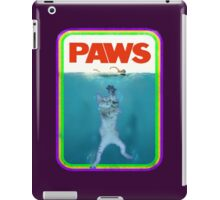 Jaws (PAWS) Movie parody T Shirt iPad Case/Skin