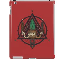 He, with the peculiar voice iPad Case/Skin
