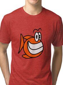 happy Puffer Tri-blend T-Shirt