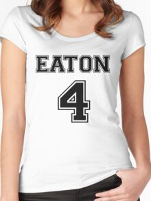 Eaton - T Women's Fitted Scoop T-Shirt