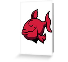 Happy happy fish Greeting Card