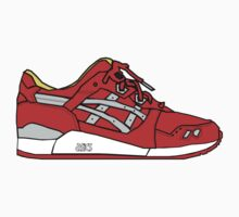 Asics Gel Lyte III Sticker by YlvaMylene