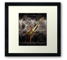 Heavy Metal Guitar  Framed Print