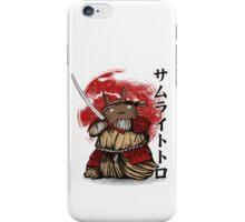 Toto samurai iPhone Case/Skin