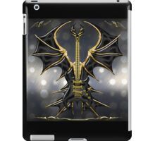 Black Gothic Guitar  iPad Case/Skin