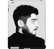 Zayn Malik Digital Drawing Black and White iPad Case/Skin