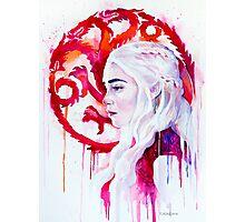 Daenerys Targaryen - game of thrones 4 Photographic Print