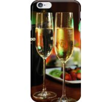 champagne glasses iPhone Case/Skin