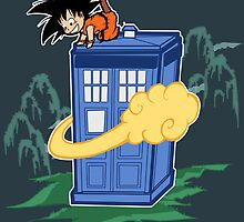 A new flying nimbus? by Arry