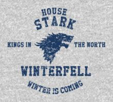 House Stark Collegiate by Impala-Designs