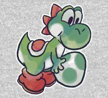 Yoshi holding an Egg Kids Clothes