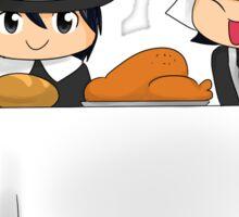 Thanksgiving Dinner Sticker