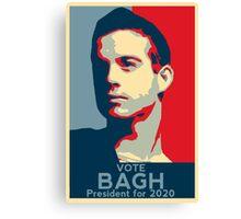 Alan Bagh - President 2020 - Birdemic Canvas Print