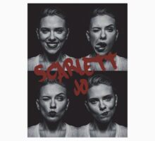 Faces of Scarlett Johansson  by WarnerStudio