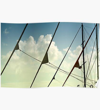boat mast  Poster