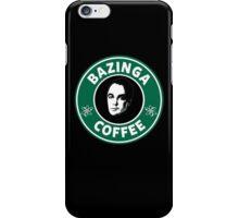 Bazinga Coffee(Sheldon Cooper) iPhone Case/Skin