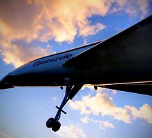 Concorde Sunset 2 - Brooklands - HDR by Colin  Williams Photography