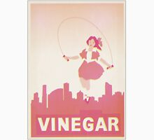 Skipping Girl Vinegar Vintage Screen Print Unisex T-Shirt