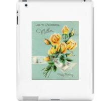 Wonderful Mother iPad Case/Skin