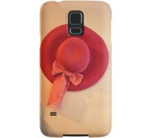 pretty hat Samsung Galaxy Case/Skin