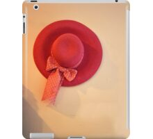 pretty hat iPad Case/Skin