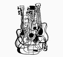 Black Guitar line Unisex T-Shirt