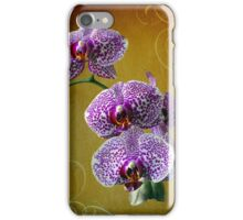 orchid flower iPhone Case/Skin