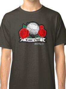 Love Golf - Ball & Roses Classic T-Shirt