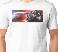 knight of fire Unisex T-Shirt