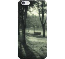 park in autumn iPhone Case/Skin