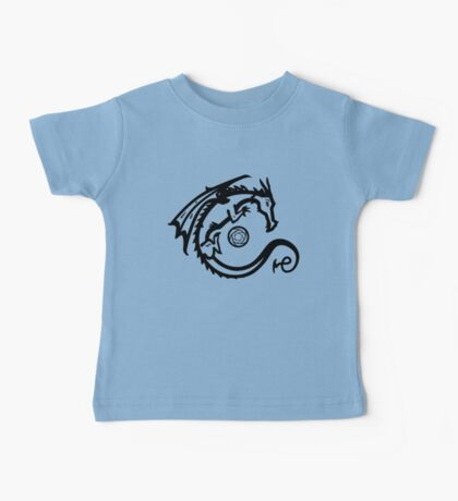 Dragon and Stone (for light t-shirts) Baby Tee